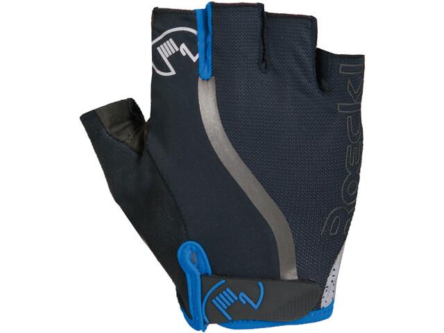 Roeckl Ivica Handschuhe schwarz/blau